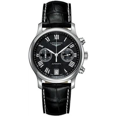 ロンジン メンズウォッチ 腕時計 L2.669.4.51.7 Longines Master Collection Mens Watch