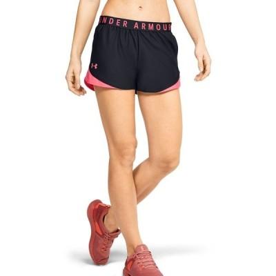 アンダーアーマー カジュアルパンツ ボトムス レディース Women's Play Up Shorts Black / Cerise / Cerise
