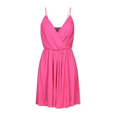 エムエスジーエム MSGM ミニワンピース&ドレス フューシャ 44 レーヨン 100% ミニワンピース&ドレス