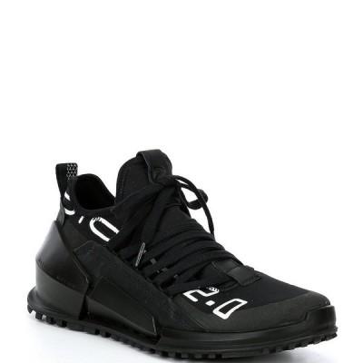 エコー メンズ スニーカー シューズ Men's Biom 2.0 Lace-Up Shoes Black/Black
