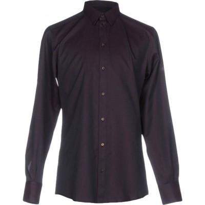 ドルチェ&ガッバーナ DOLCE & GABBANA メンズ シャツ トップス solid color shirt Dark purple