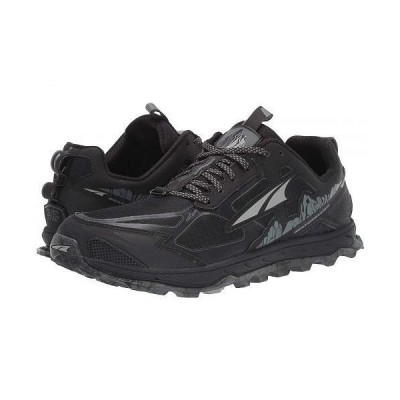 Altra Footwear オルタフットウエア メンズ 男性用 シューズ 靴 スニーカー 運動靴 Lone Peak 4.5 - Black