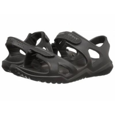 crocs クロックス メンズ 男性用 シューズ 靴 サンダル Swiftwater River Sandal Black/Black【送料無料】