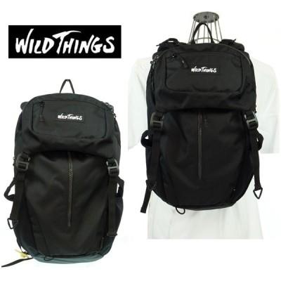 WILD THINGS  ワイルドシングス  フラップリュック  WT-380-0001   01 BLACK    2WAY   バックパック