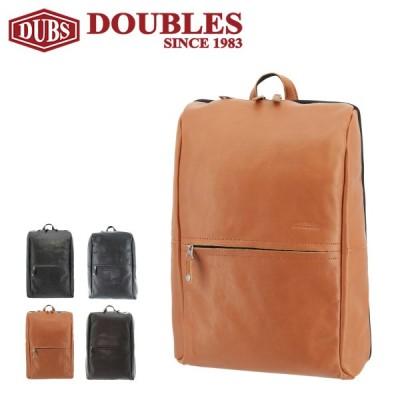 ダブルス リュック メンズ 1526 DOUBLES   リュックサック デイパック バックパック 牛革 本革 レザー