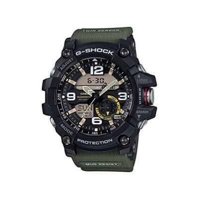 カシオ メンズ G-Shock GG1000-1A3 グリーンラバークォーツスポーツウォッチ[並行輸入品]