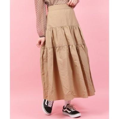 スカート WC/ボリュームロングスカート