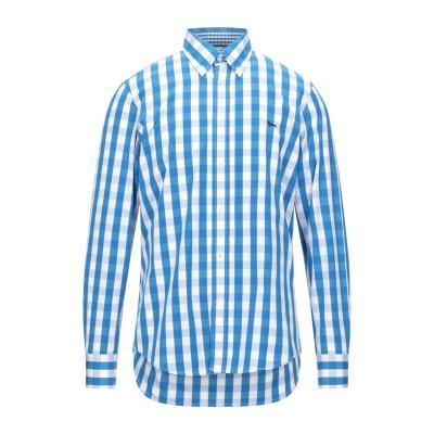 HARMONT&BLAINE シャツ ブルー M コットン 100% シャツ