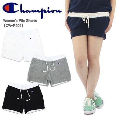 チャンピオン Champion  パイル ショートパンツ  CW-P505  ウィメンズ ボトムス[AA]