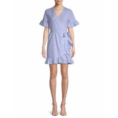 フリージェネレーション レディース ワンピース Star-Print Wrap Dress