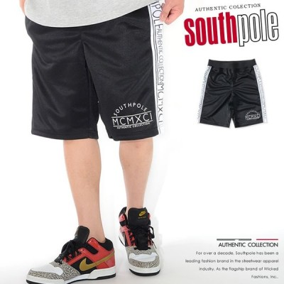 SOUTHPOLE サウスポール ショートパンツ ハーフパンツ ジャージ サイドライン (11922450) セール