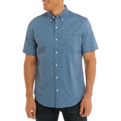 トゥルー クラフト メンズ シャツ トップス Short Sleeve Poplin Shirt
