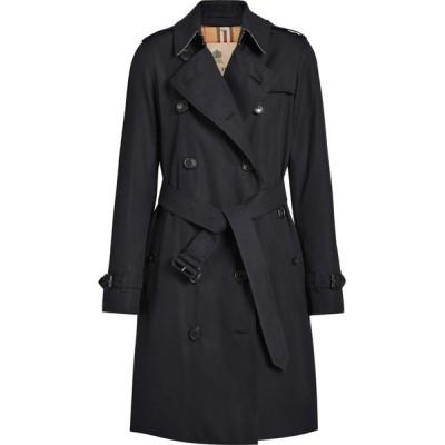バーバリー BURBERRY レディース トレンチコート アウター The Kensington Heritage Trench Coat Midnight