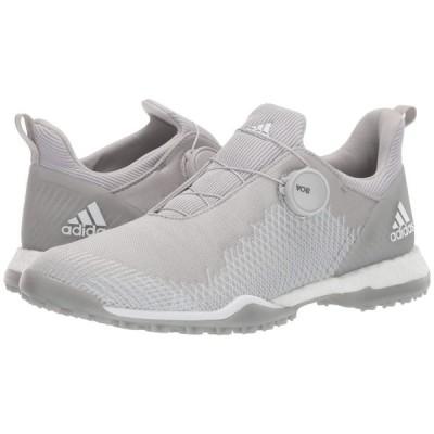 アディダス adidas Golf レディース スニーカー シューズ・靴 Forgefiber Boa Grey Two/Footwear White/Silver Metallic