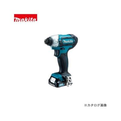 マキタ Makita 充電式インパクトドライバ 10.8V バッテリー×2本・充電器・ケース付 TD110DSHX