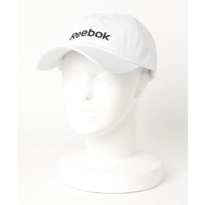 帽子 キャップ 【Reebok】ロゴ刺繍ローキャップ