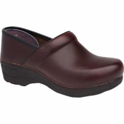 ダンスコ クロッグ XP 2.0 Clog Brown Pull Up Leather