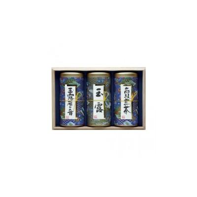 宇治森徳 日本の銘茶 ギフトセット(玉露雁ケ音130g・玉露130g・高級煎茶130g) MY-100W