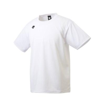 デサント DESCENTE 半袖Tシャツ ワンポイント ハーフスリーブ シャツ (WHITE) 20FW-I