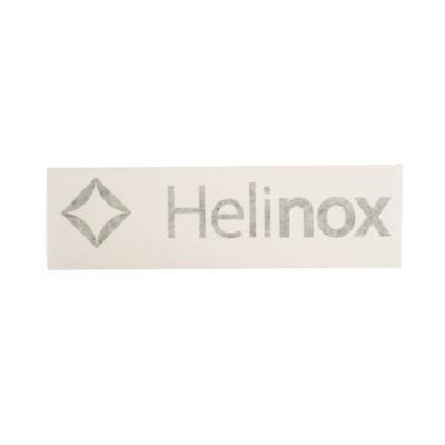 ヘリノックス Helinox Helinox ロゴステッカー S ブラック