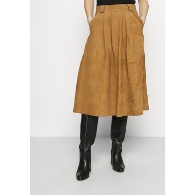 デイ・ビルゲール・エ・ミッケルセン スカート レディース ボトムス HEY DO - Leather skirt - cat