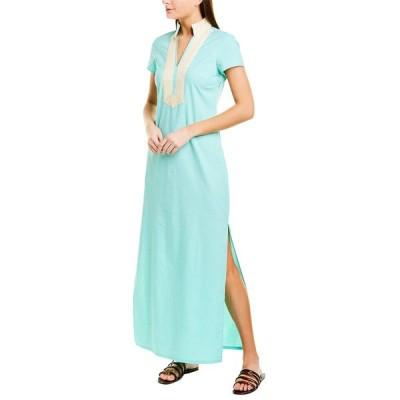 セイルトゥーサブル ワンピース トップス レディース Sail to Sable Linen-Blend Maxi Dress mint