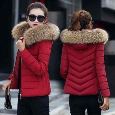 ダウンコート レディース ダウンジャケット 軽い 中綿ジャケット 大きいサイズ 上品 秋冬 9色 ショート丈 ファー付き シングル 通勤 OL