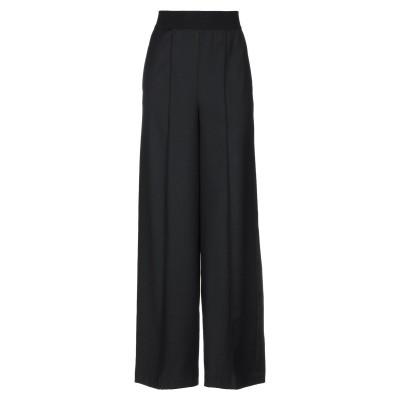 セミクチュール SEMICOUTURE パンツ ブラック 40 バージンウール 53% / ポリエステル 30% / 合成繊維 17% / ウール