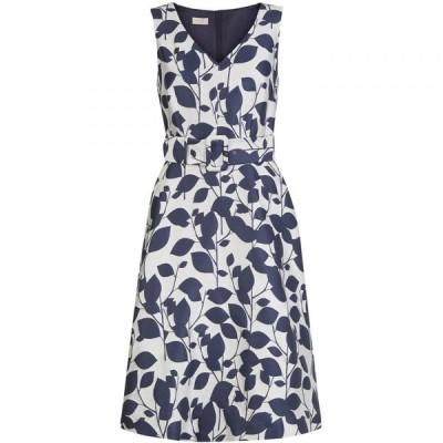 ホッブス Hobbs レディース ワンピース ワンピース・ドレス Grace Dress White/Navy