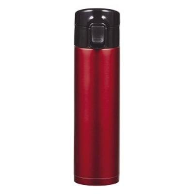 カフェマグワンタッチボトル350スクリュー栓付 レッド HB-4908(代引不可)【送料無料】