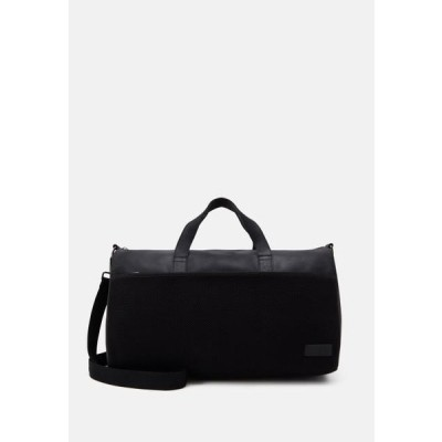 ザイン メンズ バッグ UNISEX LEATHER - Weekend bag - black