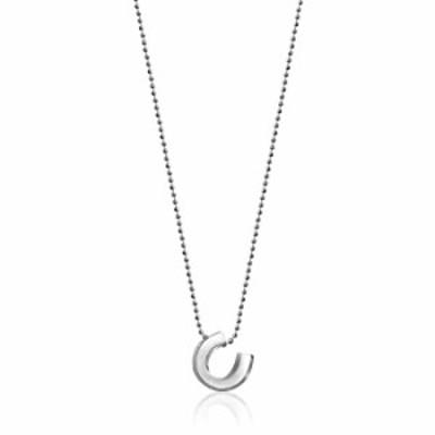 "Alex Woo ""Little Luck"" Sterling Silver Horseshoe Pendant Necklace, 16"""