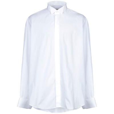 PAL ZILERI CERIMONIA シャツ ホワイト 46 コットン 100% シャツ