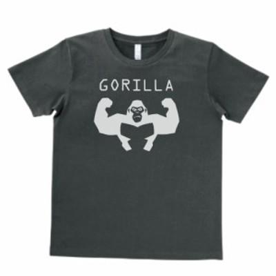 デザインTシャツ おもしろ GORILLA ゴリラ スモーク