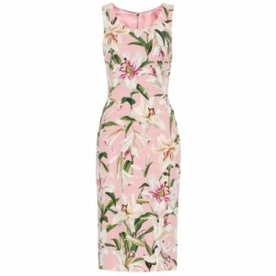 ドルチェ&ガッバーナ Dolce & Gabbana レディース ワンピース ワンピース・ドレス Floral cady-crepe dress Gigli Fdo. Rosa