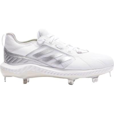 アディダス adidas レディース 野球 シューズ・靴 Purehustle White/Silver Metallic/Grey One