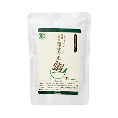 オーサワの有機活性発芽玄米粥 200g ×20