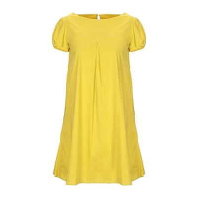KATE BY LALTRAMODA ミニワンピース&ドレス ビタミングリーン 42 コットン 79% / ナイロン 18% / ポリウレタン 3%