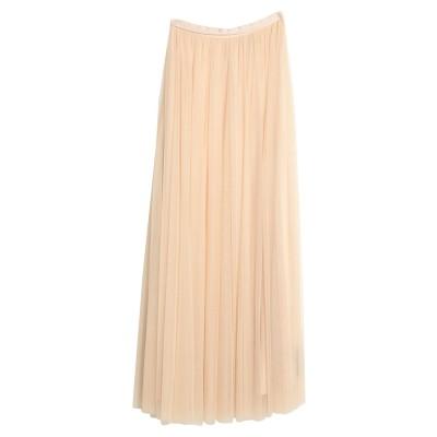 NEEDLE & THREAD ロングスカート ライトピンク 6 ナイロン 100% ロングスカート