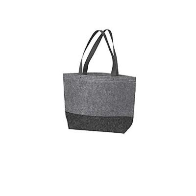 Port Authority luggage-and-bags Medium Felt Tote OSFA Felt Charcoal/Felt Gr
