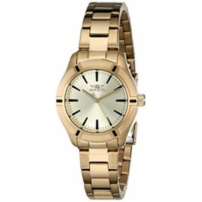 """腕時計 インヴィクタ インビクタ Invicta Women's 18030 """"Pro Diver"""" Gold-Tone Stainless Steel Watch"""