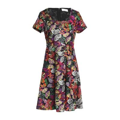 MIKAEL AGHAL ミニワンピース&ドレス ブラック 0 ポリエステル 100% ミニワンピース&ドレス