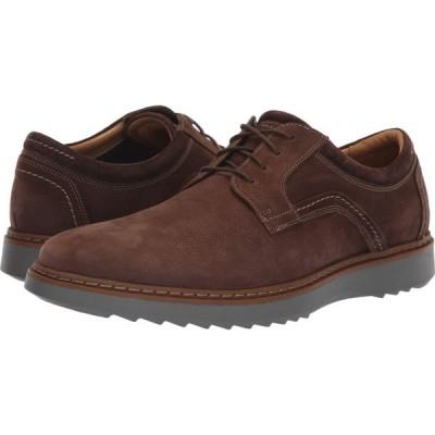 クラークス Clarks メンズ 革靴・ビジネスシューズ シューズ・靴 Un Geo Lace Dark Brown Nubuck