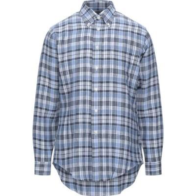 ブルックス ブラザーズ BROOKS BROTHERS メンズ シャツ トップス checked shirt Blue