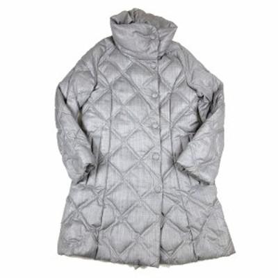 【中古】タトラス TATRAS Rライン VALERIA ダウンコート ジャケット ブルゾン ウール ロゴ 02 グレー LTA15A4412