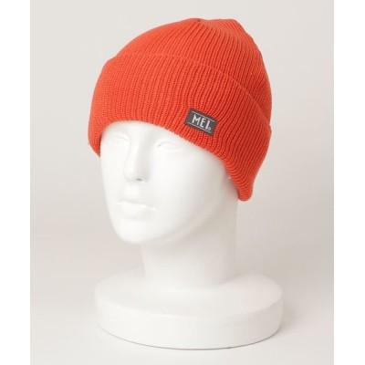 FUNALIVE / 【MEI】ワンポイントロゴ ニットキャップ MEN 帽子 > ニットキャップ/ビーニー