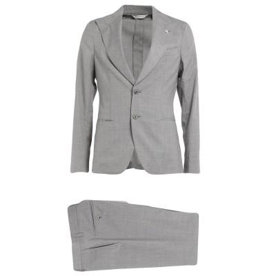 マニュエル リッツ MANUEL RITZ スーツ グレー 48 バージンウール 100% スーツ