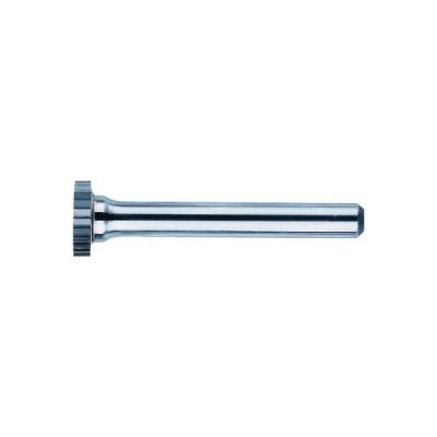 ニューレジストン(株) NRS 超硬バー リムsカット 刃径12×刃長2.6×軸径6×軸長45.4 ロー付 TCBT8700 1本【435-6772】