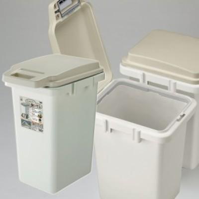 「LF」 ワンハンドパッキンペール45JS ごみ箱 ゴミ箱 ダストボックス 45L シンプル パッキン付き RSD-71