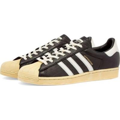 アディダス Adidas メンズ スニーカー シューズ・靴 superstar Black/White/Blue